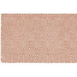 Versatile Easy Clean Indoor Outdoor Coral and Light Cream Rug DP10-Soft Furnishings-Retail Therapy Interiors