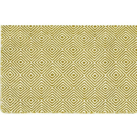 Versatile Easy Clean Indoor Outdoor Green and Light Cream Rug DP10-Soft Furnishings-Retail Therapy Interiors