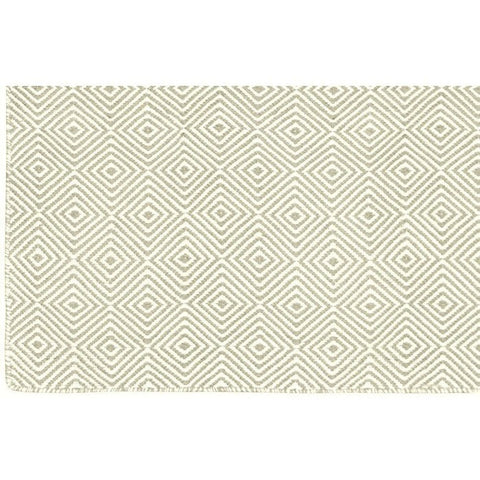 Versatile Easy Clean Indoor Outdoor Silver and Light Cream Rug DP10-Soft Furnishings-Retail Therapy Interiors