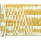 Versatile Easy Clean Indoor Outdoor Yellow and Light Cream Rug DP14-Soft Furnishings-Retail Therapy Interiors
