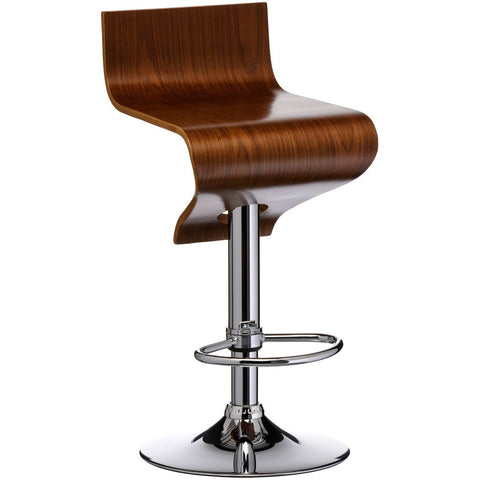 Walnut Bar Stool-Furniture-Retail Therapy Interiors