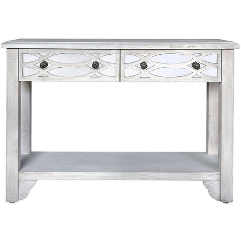 Washed Ash 2 Drawer Console Table-Furniture-Retail Therapy Interiors