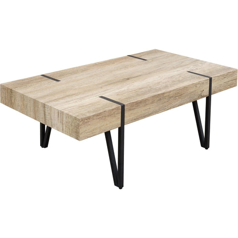 Wood Effect Coffee Table-Furniture-Retail Therapy Interiors