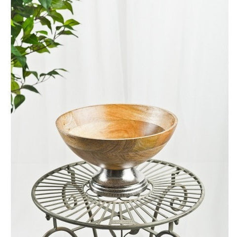 Wooden Fruit Bowl-Kitchenware-Retail Therapy Interiors