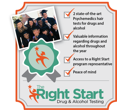 Right Start Alcohol and Drug Screening Program Logo