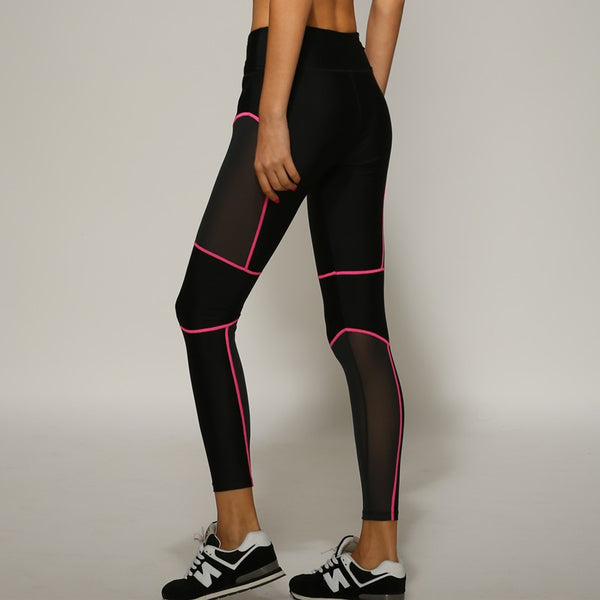 SideLine Mesh Premium workout pants