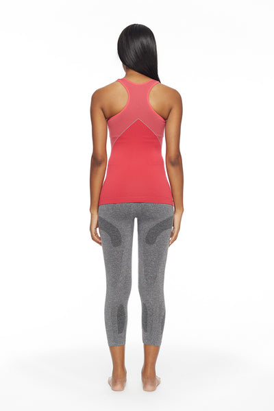 Carrie Racerback Tank Top (coral)