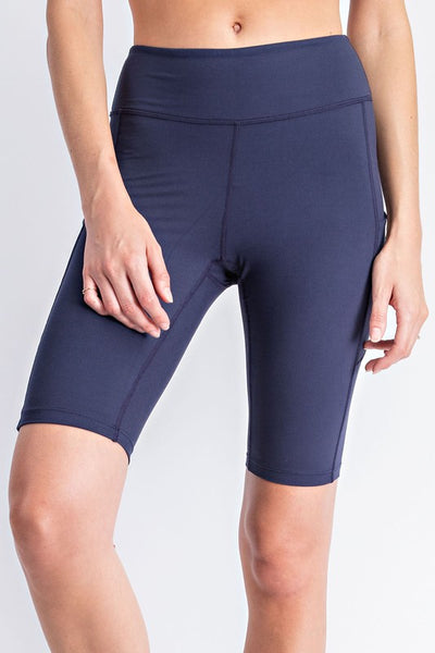 Flex Butter High Rise Biker Short with Side Pocket