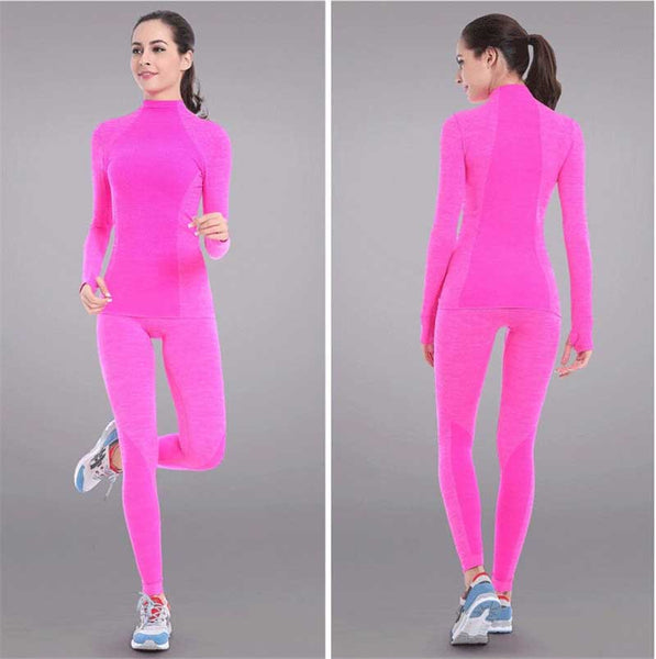 Enlighten Long Sleeve Fitness Thermal Set