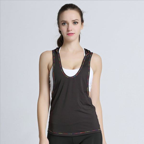 Victoria Sleeveless Vest Sports Top