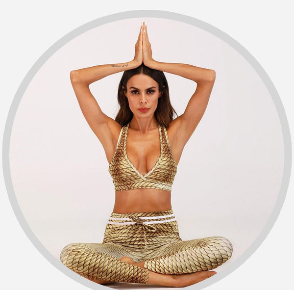 The Golden One Yoga Set