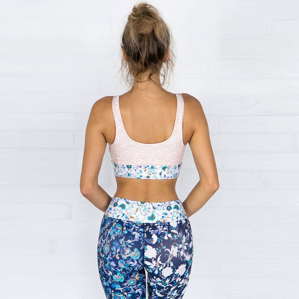Flower power Patchwork Fitness Set