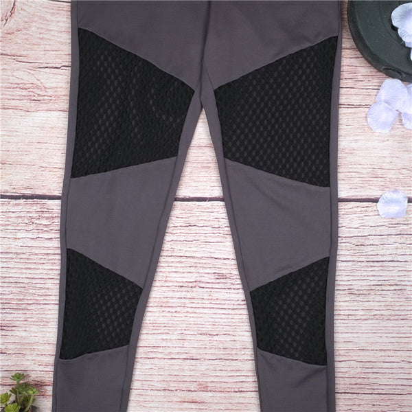 Stoney Soft Mesh Workout Leggings