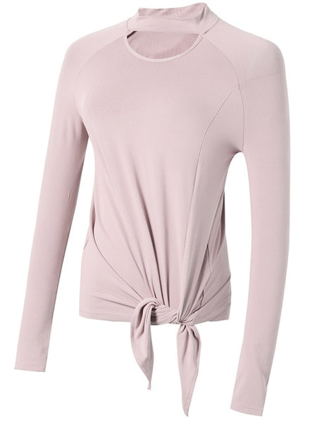 Carrie Long Sleeve Yoga Top