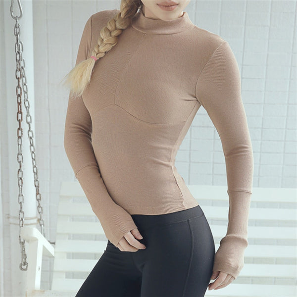 Samantha Long Sleeve Crop Top