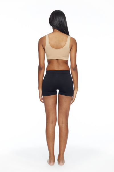 Victoria V cut Sports Bra with removable cups
