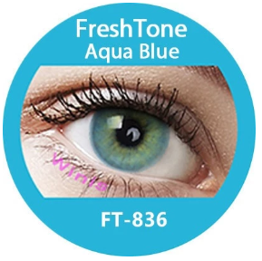 Colour Lenses - Aqua Blue