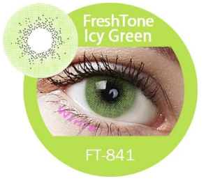 Colour Lenses - Icy Green