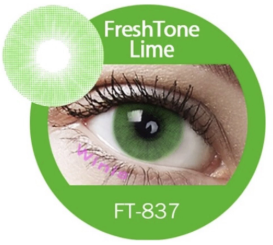 Colour Lenses - Lime
