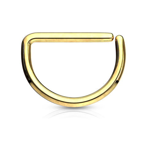 D-Shape Ring - 16G