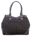 Spinderella Flocking Handbag