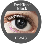 Colour Lenses - Black