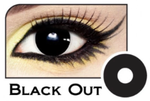 Halloween Lenses - Black Out