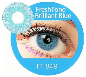 Colour Lenses - Brilliant Blue