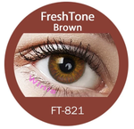Colour Lenses - Brown