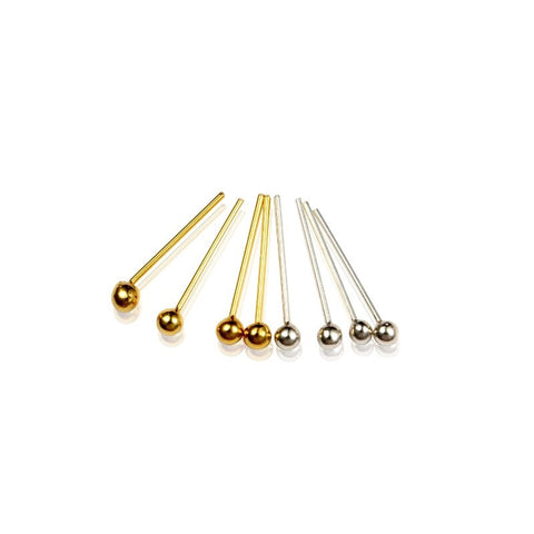 .925 Sterling Silver Ball Stud