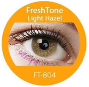 Colour Lenses - Light Hazel