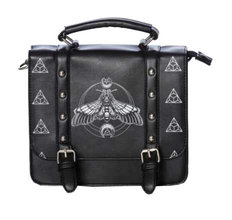 Moth Small Satchel Shoulder Bag