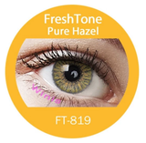 Colour Lenses - Pure Hazel