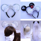 Disney Wedding Bride Mouse Ears