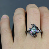 Crossed Marquise Ring (Free Shipping)
