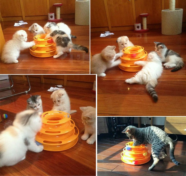 Three Level Tower Cat Toy