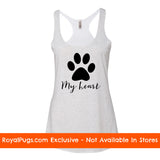 My Heart Racerback Tank Top