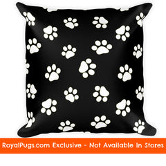 Dog Paw Pug Pillow