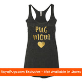 Pug Mom Racerback Tank Top