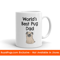 World's Best Pug Dad Pug Mug