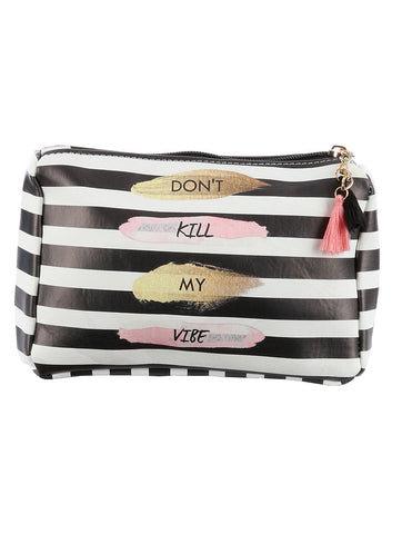 Don't Kill My Vibe Accessory Bag