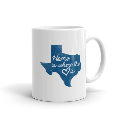Home is Where the Heart Is Mug - Texan Traders