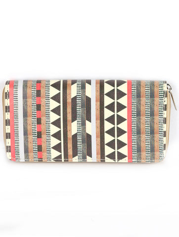 Tribal Print Wallet/Clutch