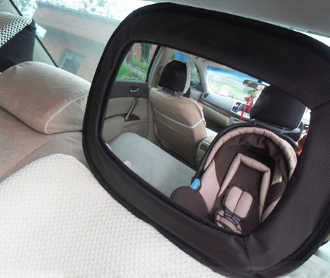 Car Interior Baby Monitor Mirror Back Seat Safety Rearview by Baby in Motion