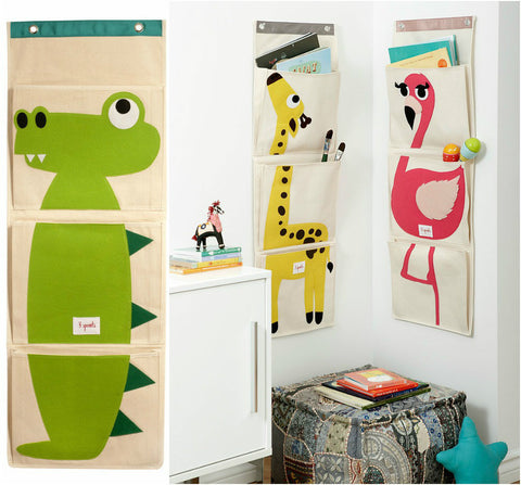 Cartoon Animal Hanging Wall Storage by Baby in Motion