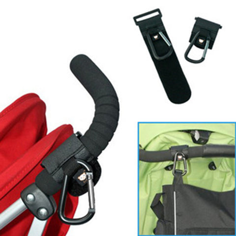 Baby Stroller Hook Clips by Baby in Motion