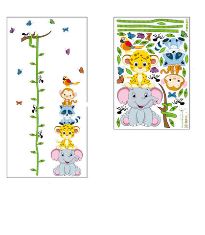Animals with Branch Growth Chart by Baby in Motion