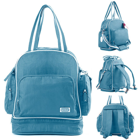 Melbourne Solid Multifunctional Mom Bag by Baby in Motion