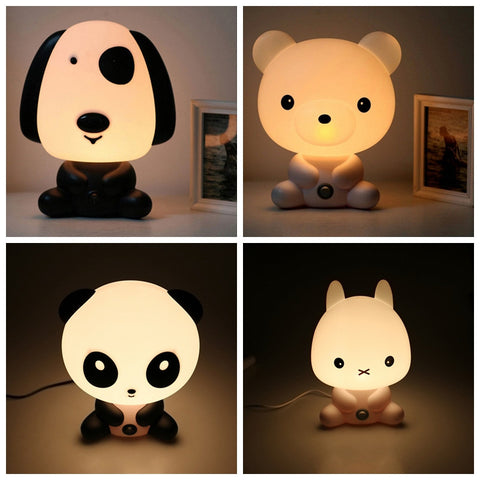 Cartoon Animal Night Sleeping Light by Baby in Motion