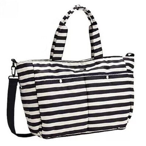 Large Stripe Diaper Bag by Baby in Motion